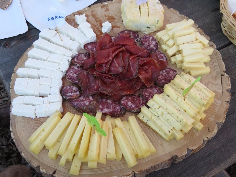 Dégustation du fromage d'alpage 2017 du Col des Planches