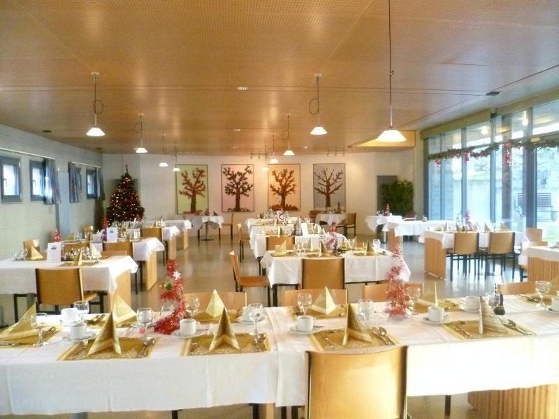 Salle à manger Noël 2011